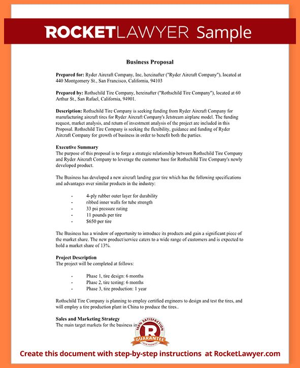 2+ format for a business proposal | Project Proposal