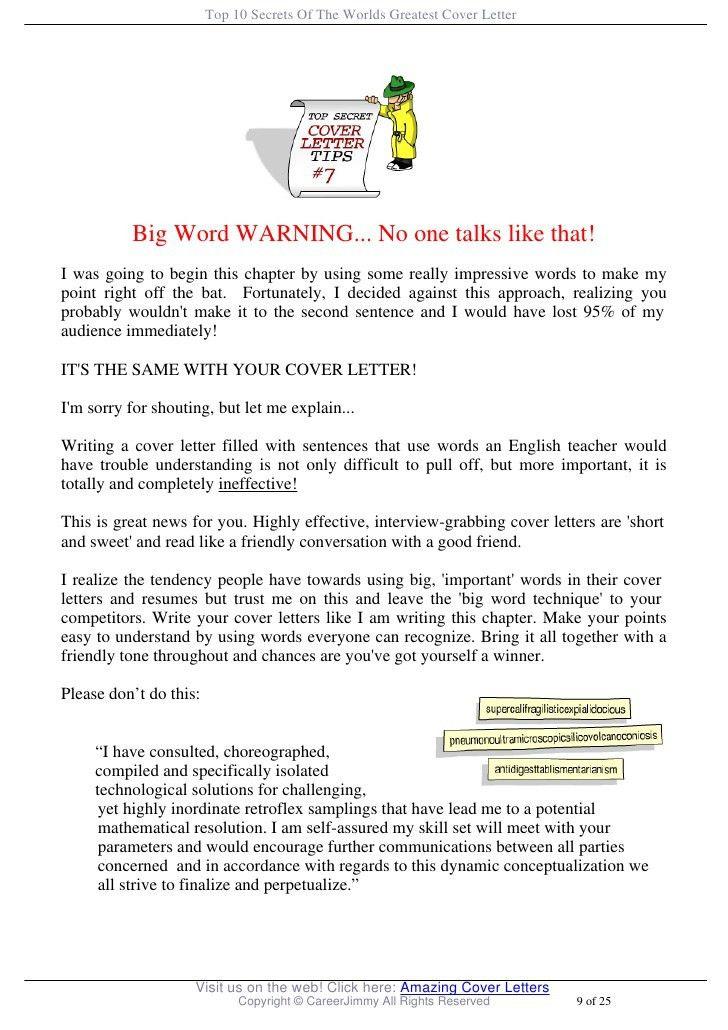 Great Cover Letter Secrets. Hair Stylist Cover Letter Sample ...