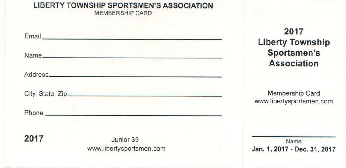 Membership :: Liberty Township Sportsmen Association