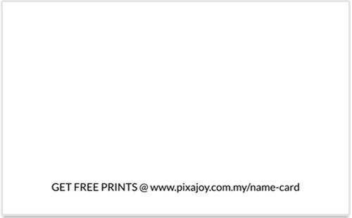 Photo Book Malaysia – Name / Contact Cards Landing