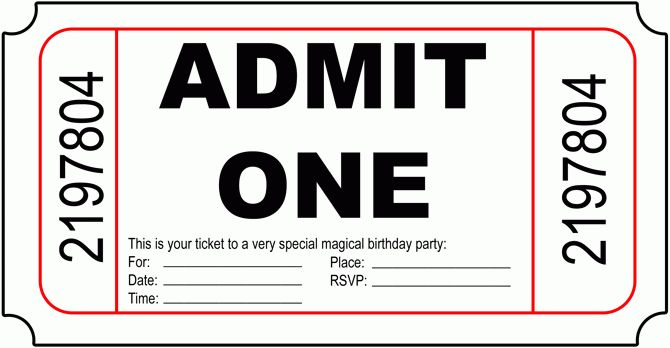 Birthday Invitation Templates Free - plumegiant.Com