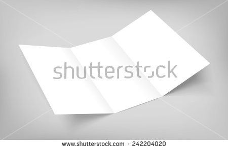Tri fold brochure blank template free vector download (14,621 Free ...