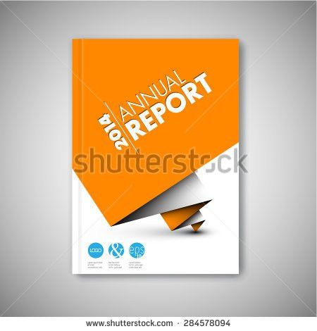 Modern Annual Report Vector Abstract Design Stock Vector 282437243 ...