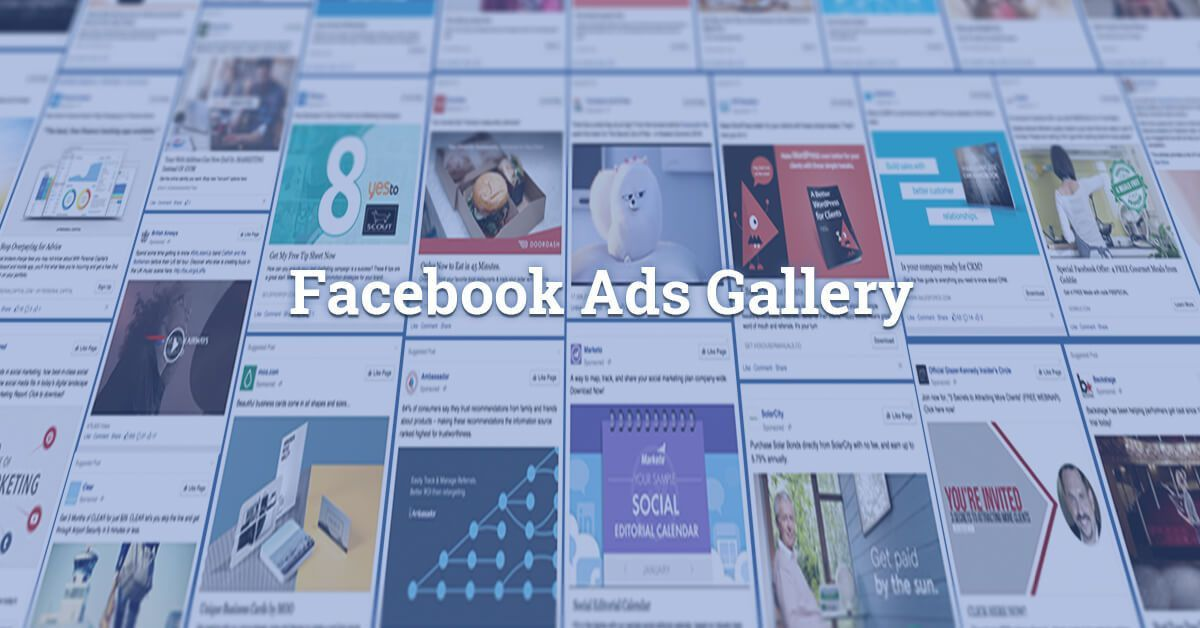 67,468 Facebook Ad Examples From Every Major Industry