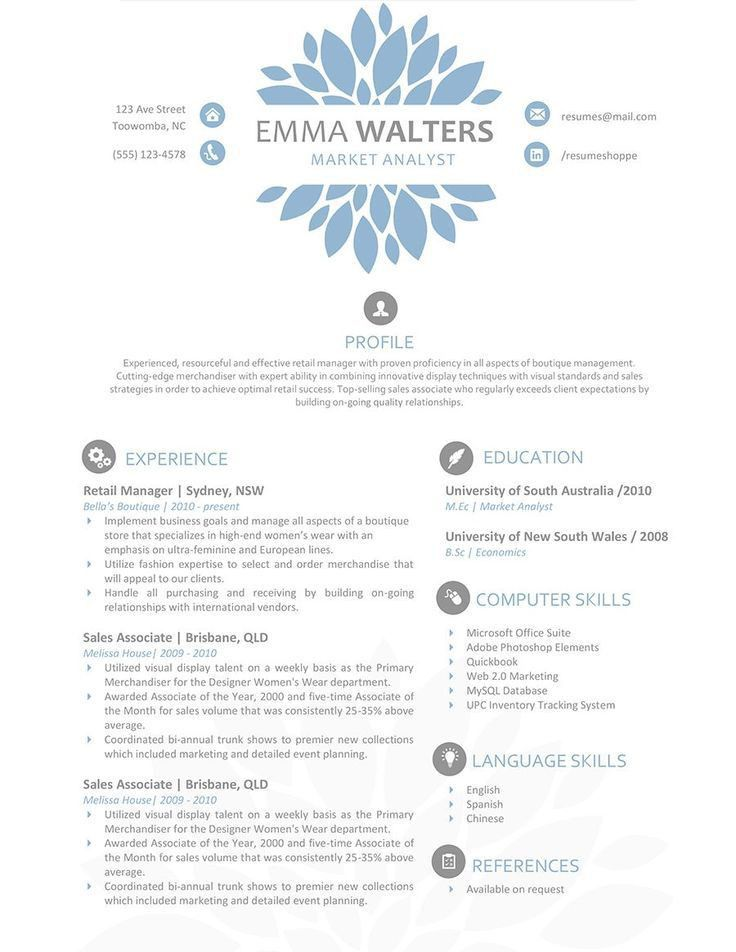 8 best Professional resume templates word editable images on ...