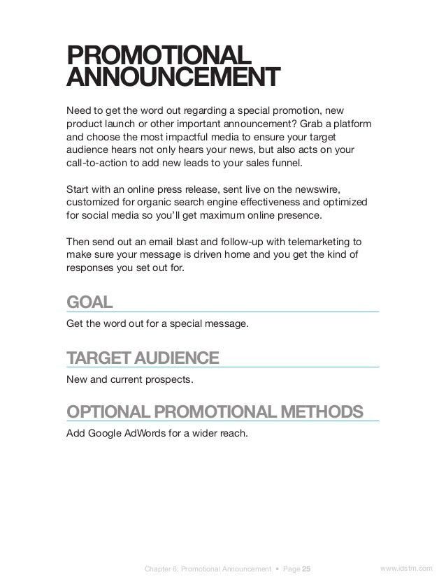 Employee Promotion Announcement Template - Corpedo.com