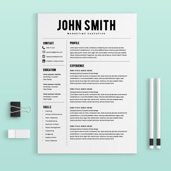 Creative Professional Resume Templates. Use Our Creative Resume ...