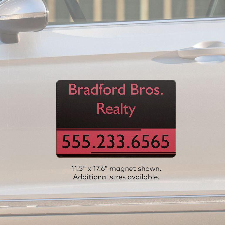 Car Magnets & Magnetic Signs | Vistaprint