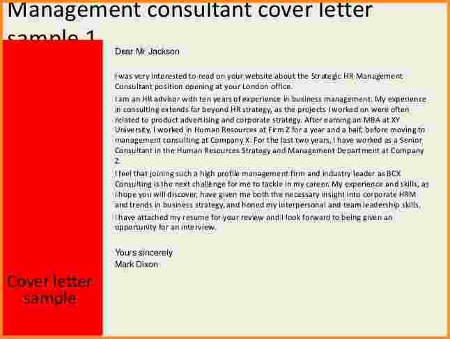 Download Cover Letter Management Consulting | haadyaooverbayresort.com
