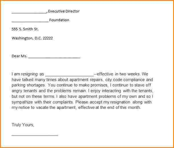 8+ 2 weeks notice format | receipts template
