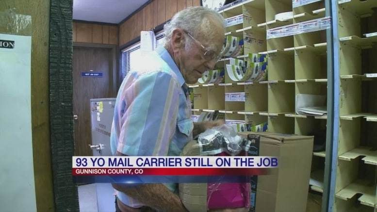 93-year-old mail carrier still on the job after 60 years – Postal ...