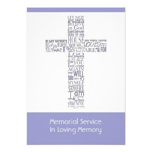 38 best Religious Funeral Announcement images on Pinterest ...