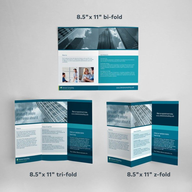 Custom Brochure Printing | Vistaprint