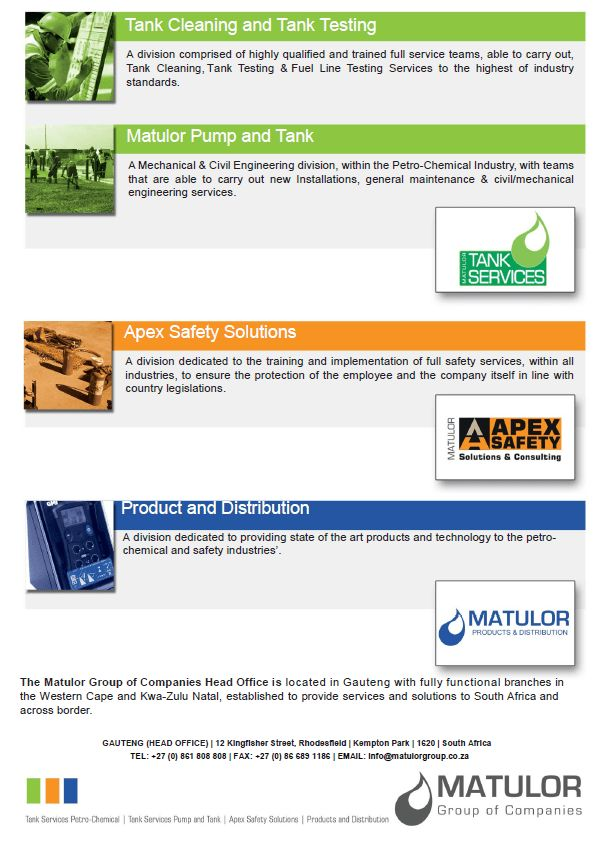 INTERESTED ? HERE IT IS THE STUNNING MATULOR GROUP COMPANY PROFILE ...