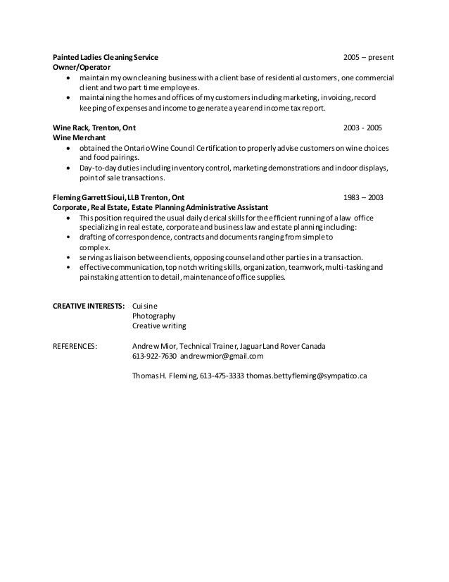 cleaning business resume unforgettable residential house cleaner