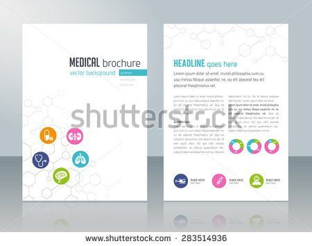 Wellness Brochure Template Relaxation Healthcare Medical Stock ...