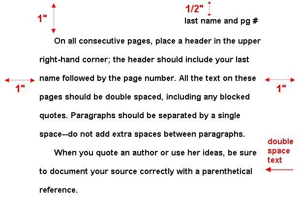 proper essay format eng 1001