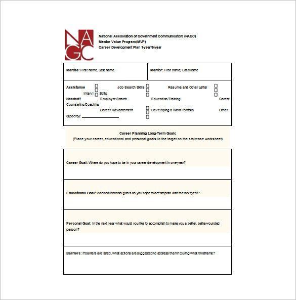 Career Development Plan Template - 10 Free Word & PDF Documents ...