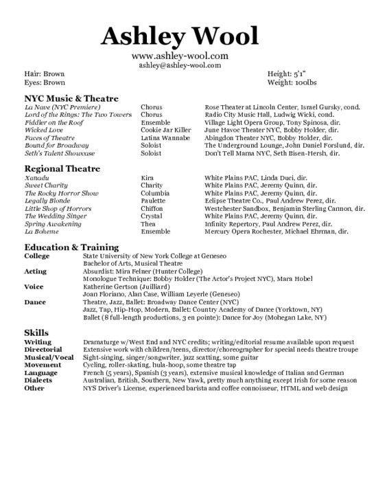 dancer resume template 6 free word pdf documents download