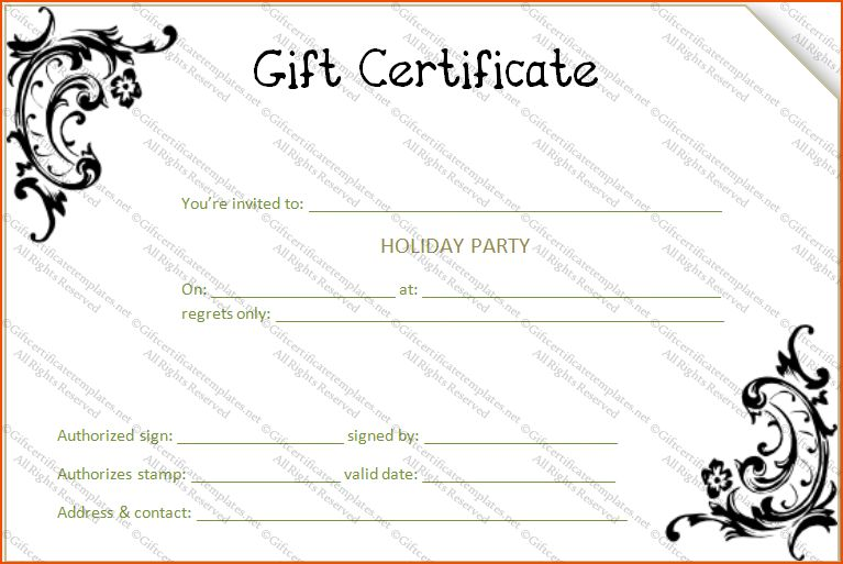 5+ gift card template word - bookletemplate.org