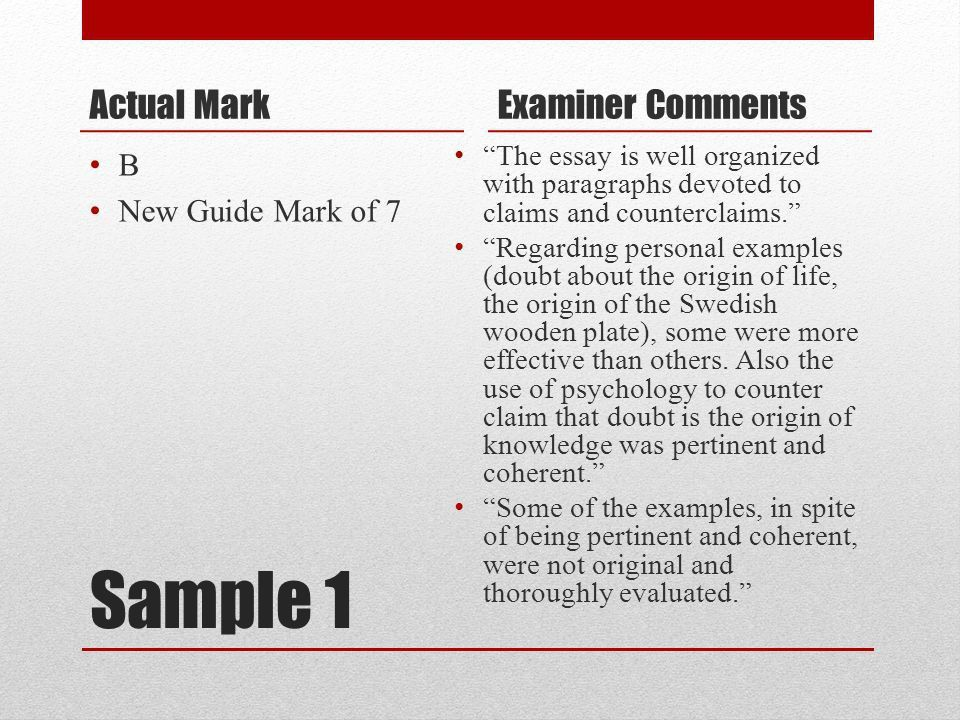 Tok essay example grade a. College paper Help