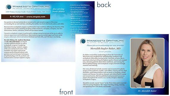 Postcards / Announcements - Medical Practice Web Site Design ...