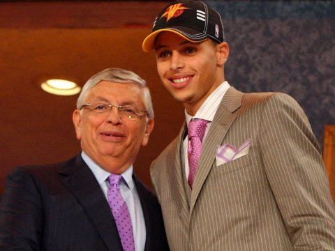 WHERE ARE THEY NOW? The players drafted before Stephen Curry in ...