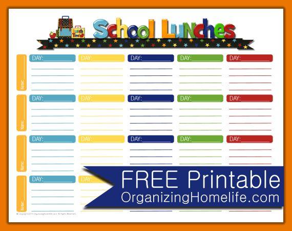School Menu Template.School Lunch Free Printable.png | Scope Of ...