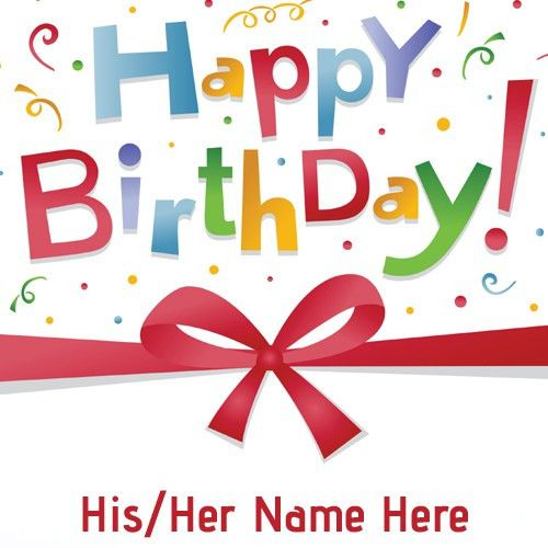 happy birthday name card happy birthday wishes card with name edit ...
