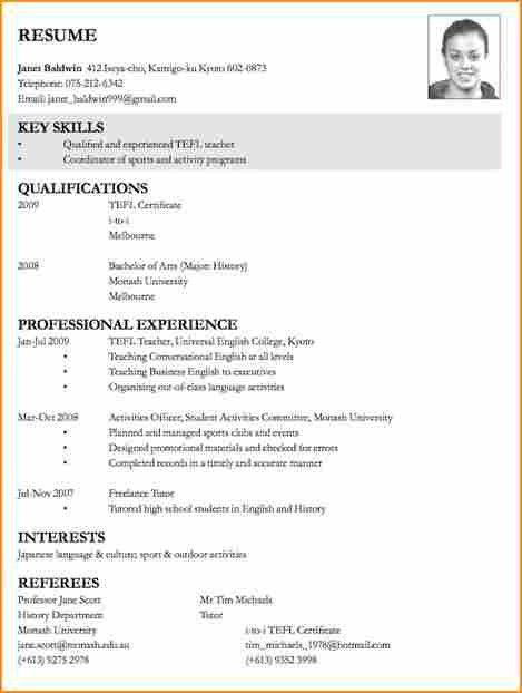 resume for job application sample choose best sample cover