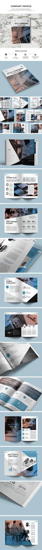 Free Download - Company Profile Template - Brochure - Magazine ...
