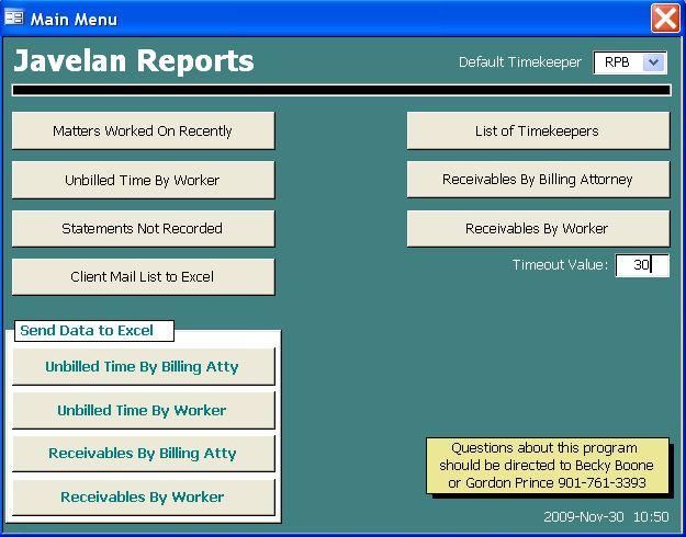 Javelan software add-ons | Javelan Reports — Technology for ...