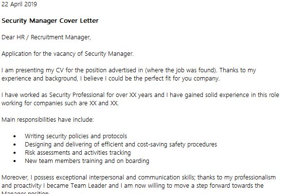As400 Administrator Cover Letter