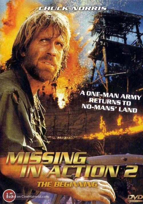 Missing in Action 2: The Beginning Danish dvd cover