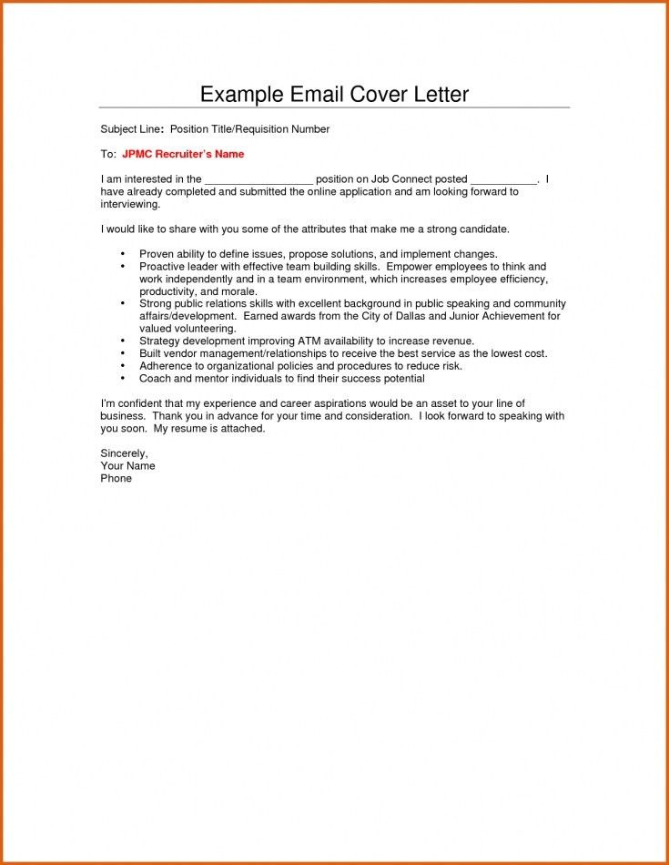 email cover letter subject line email referral cover letter