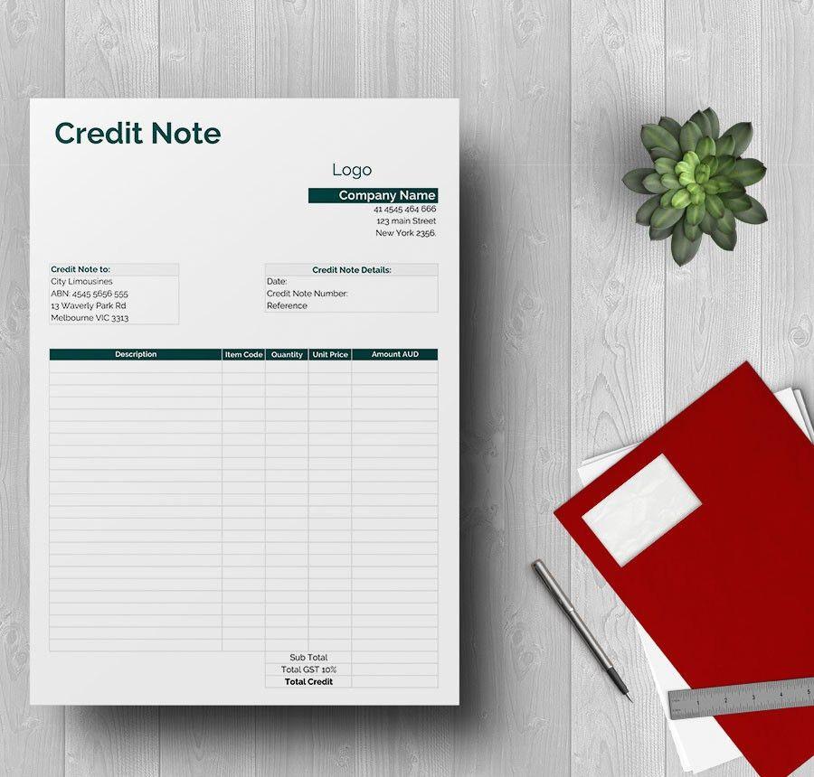 4+ Free Credit Samples - (Report, Memo, Note)
