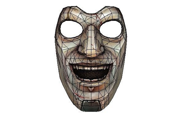 Borderlands: The Pre-Sequel - Life Size Jack's Troll Face Mask ...