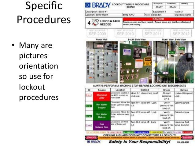 OSHA Lockout Safety General Industry