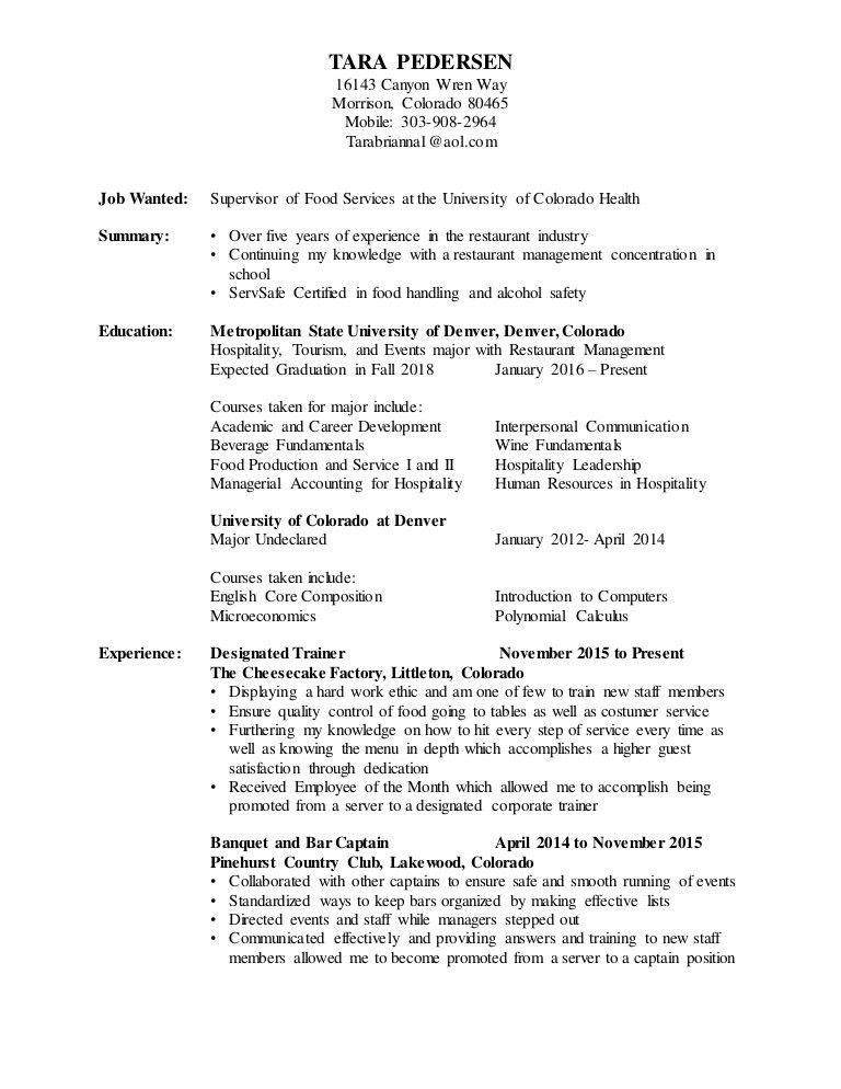 REDO Resume
