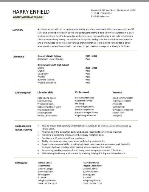 1000 ideas about high school resume template on pinterest high how ...