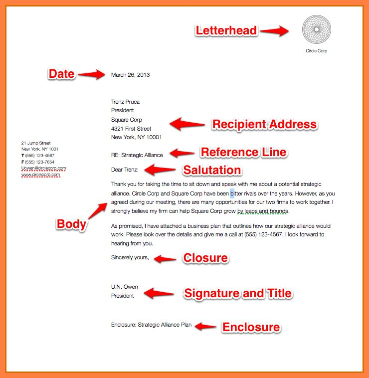 10+ example of simple business letter | Bussines Proposal 2017