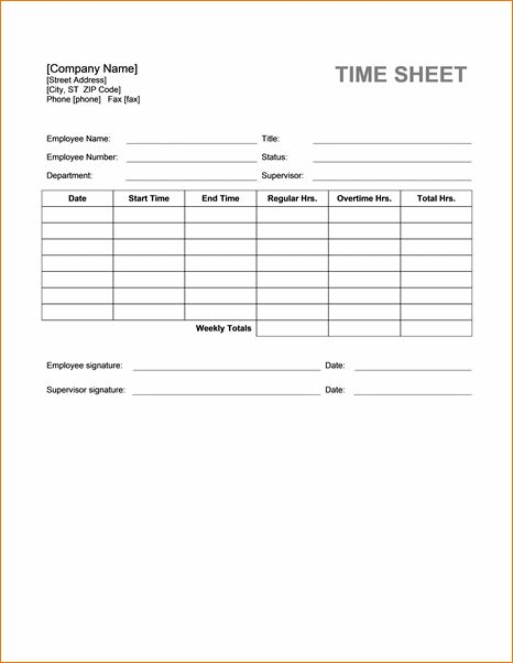 7+ Timesheet Template Word | Timeline Template