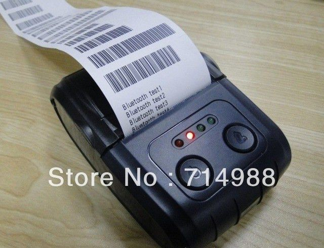 58mm Portable Bluetooth thermal printer free SDK support USB ...