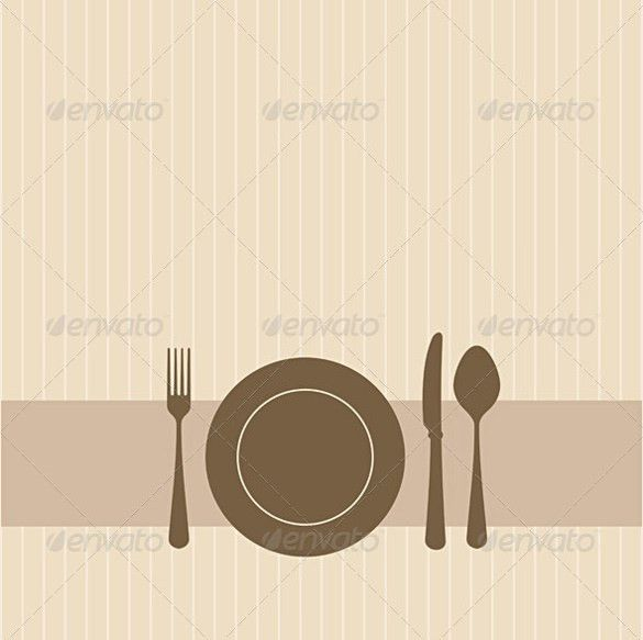 Image Gallery lunch invitation template