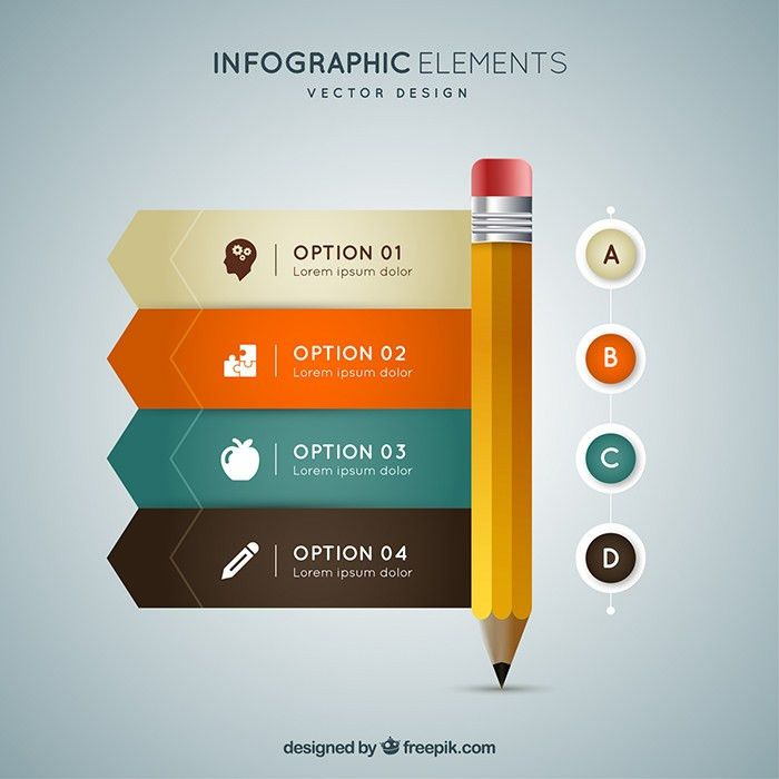 40 Free Infographic Templates to Download | Organic Traffic ...