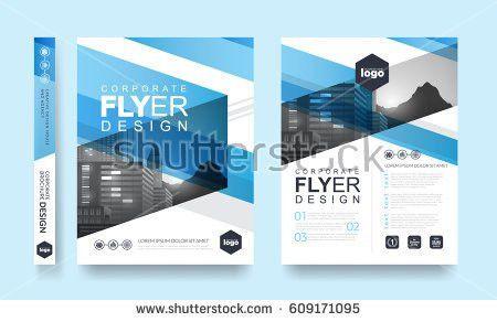Poster Flyer Pamphlet Brochure Cover Design Stock Vector 609171095 ...
