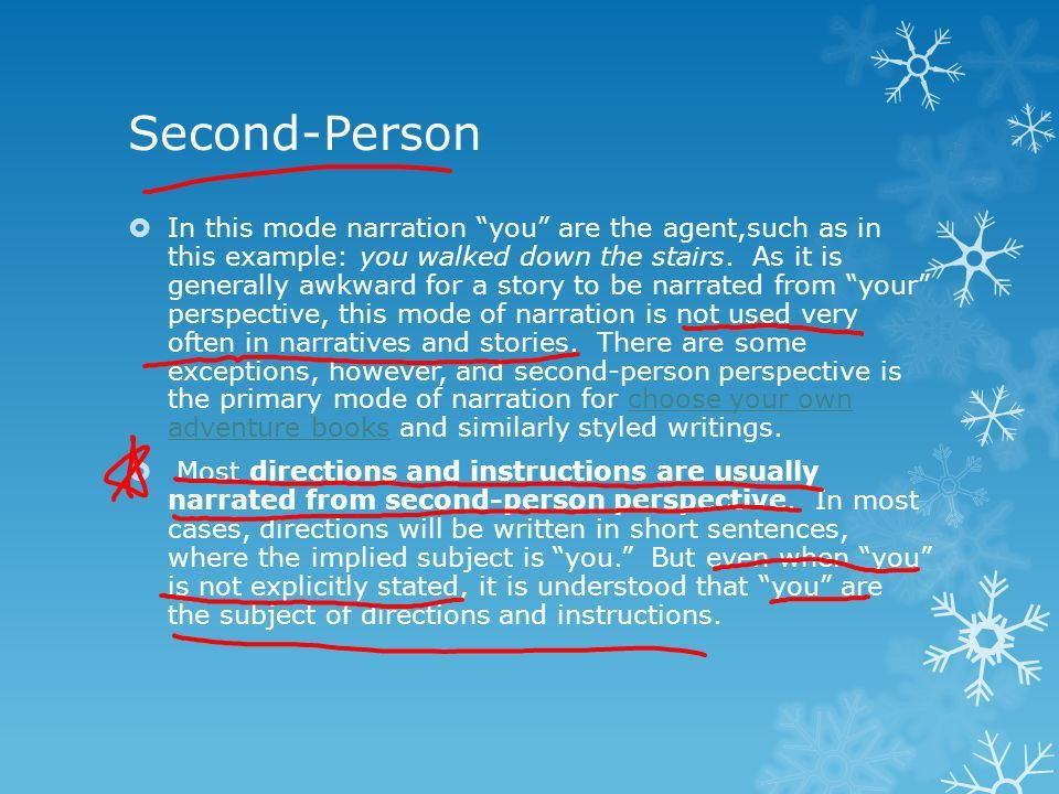 Narrative Perspective Author's Point of View. Dialogue and ...