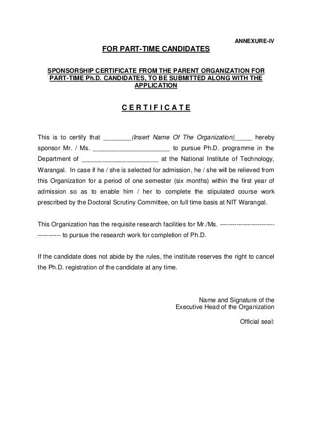 NIT Warangal PhD Admission Notification Dec 2014