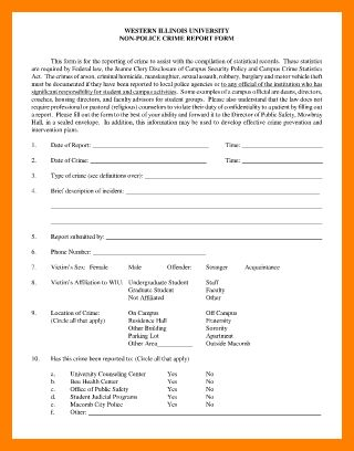 5+ homicide police report template | monthly budget forms