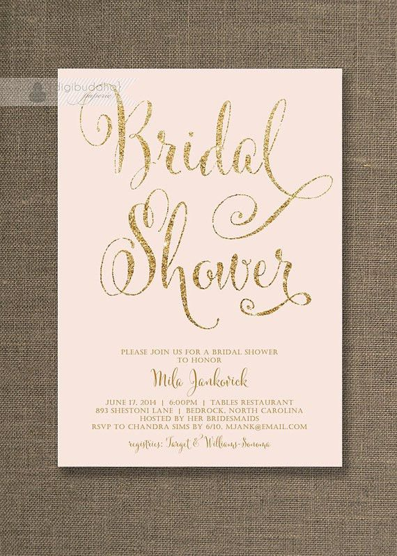 Free Bridal Shower Invitations | badbrya.com